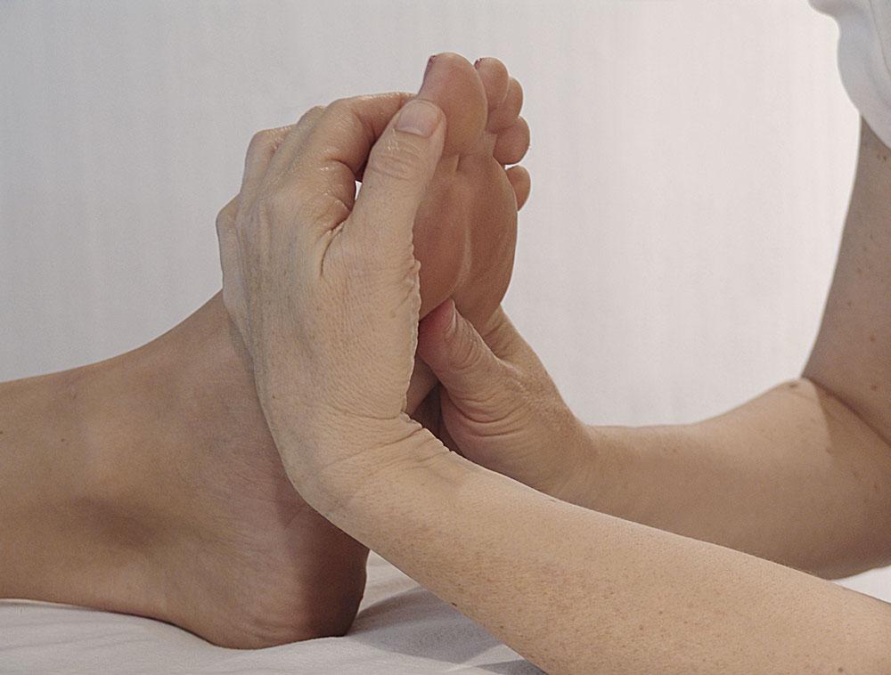 Privatleistungen - Fußreflexonenmassage